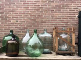Oude gistflessen flessen