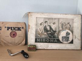 Verkocht 😜  Nirona kinder grammofoon Germany jaren 20 uniek