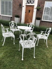 Verkocht Victorian stijl tuinset uniek jaren 60
