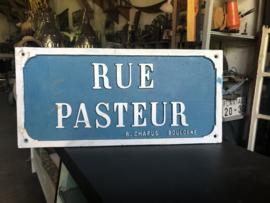 Rue Pasteur straatnaambord