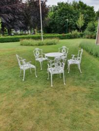 Victorian stijl tuinset uniek jaren 60