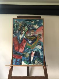 Schilderij J Wols