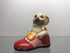 Oude punterslijper aardewerk muis