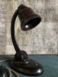 E.K. COLE BAKELITE DESK LAMP Incl verzending