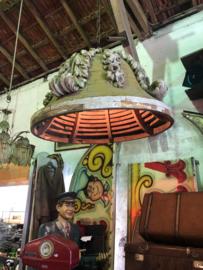 Unieke lamp / doopvont leeftijd 1850-1870