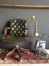 Verkocht 😜 Chesterfield burostoel chair