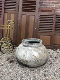 Verkocht 😜 Brocante grote pot