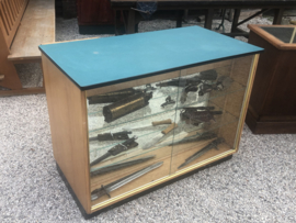 Winkelvitrine vitrine kassablok vitrinekast kassa