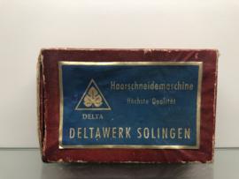 Haarsnijmachine scheermes Delta solingen incl.verz.