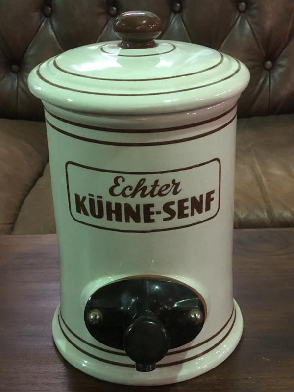 Verkocht Mosterpot Kühne senf
