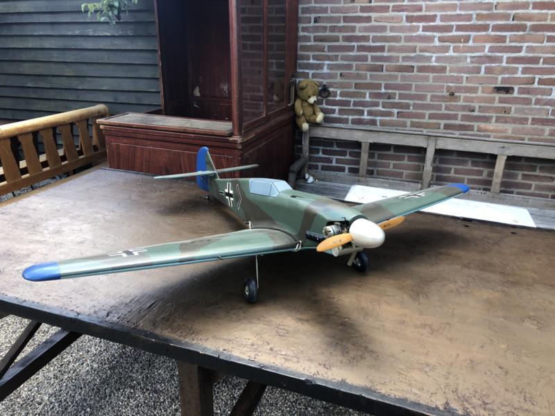 Vliegtuig Messerschmitt BF 109F  150 cm breed