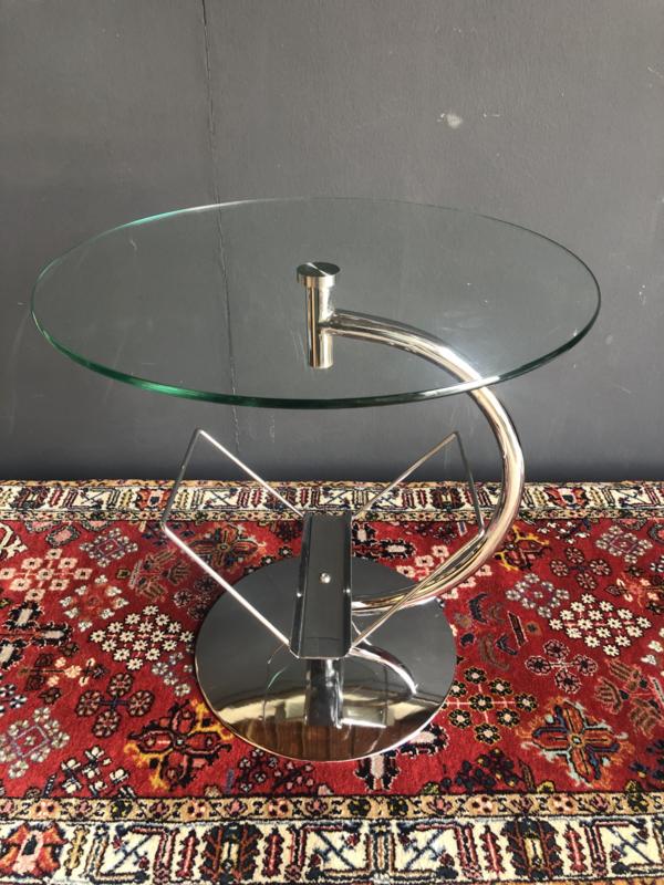 Verkocht 😜Vintage designtafel salontafel
