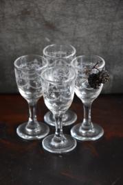 Glaasjes Grand Marnier - set van 4