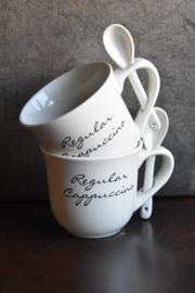 Kopje van Rivièra Maison - Regular Cappuccino