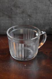 Brocante Maatbeker - glas