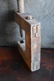 Oude Brocante Lijmklem - hout