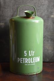 Petroleumkan Groen - emaille