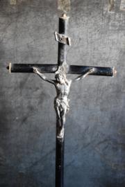 Jezus aan Kruis - zwart