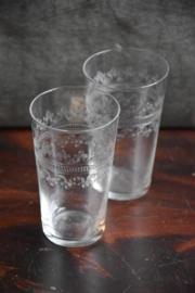 2 Oud Glaasjes - bewerkt