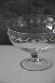 Brocante Bonbonschaaltje - glas