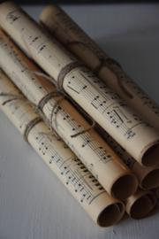 Oude Bladmuziek - bruin