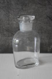 Brocante Voorraadpot - glas
