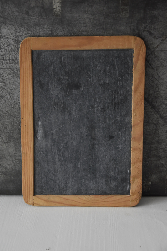 Oud Krijtbordje - hout
