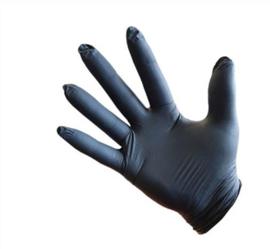 Handschoen zwart per 10 stuks