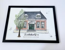 Persoonlijk huisportret