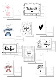 Voordeelset van 10 kaarten