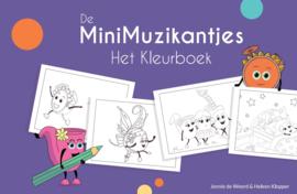 Kleurboek De MiniMuzikantjes en het Emotiefestijn