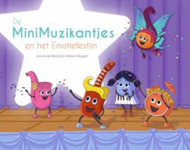 Kinderboek De MiniMuzikantjes en het Emotiefestijn