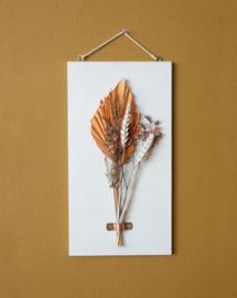 Dried Flower Wood hanger leaf