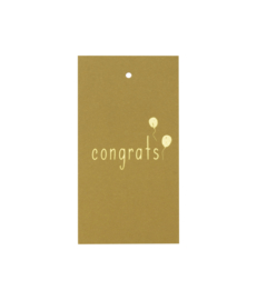 Label 'Congrats' set van 5
