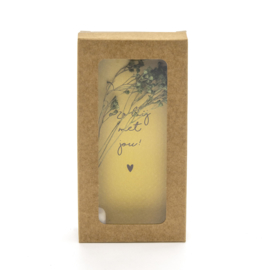 "Little Box Dried Flower ""O zo blij met jou"" set van 2"