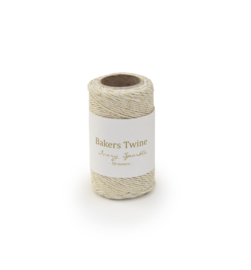 Twine Ivory/Sparkle 50 meters