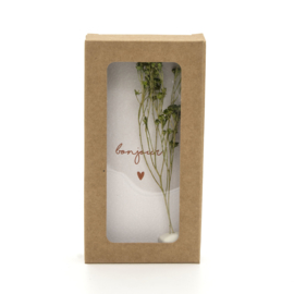 "Little Box Dried Flower ""Bonjour"" set van 2"