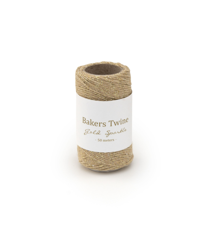 Twine Gold/Sparkle 50 meters