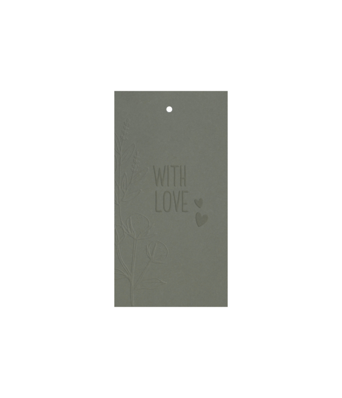 Label 'with love' / 5 pieces