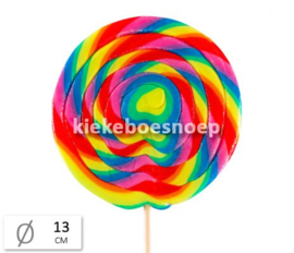Lolly Spiral Rainbow Mega  (per stuk)