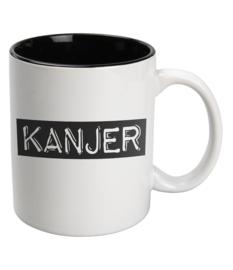 Black & White Mug Kanjer