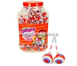 Kauwgom lollie Cherry  (per stuk)