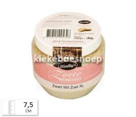 Pot zwart wit zoet XL 150 gram