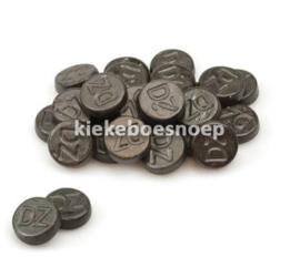 Venco rondjes dubbelzout (250 gram)