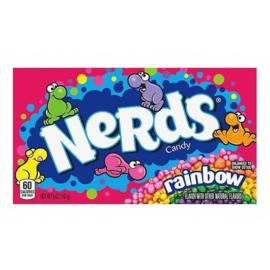 Wonka box Nerds Rainbow 141,7 gr.
