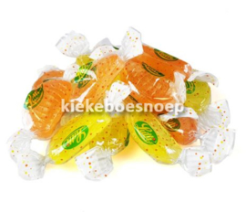 Lutti fruitador citroen/sinaasappelschijfjes (250 gram)