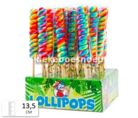 Lolly Twist Rainbow (per stuk)