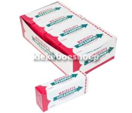 kauwgom Wrigley Spearmint 15 strips/wit (per stuk)