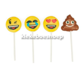 Mini Emoticon Pops 17 gr  (per stuk)