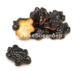 Salmiak schildpad (250 gram)